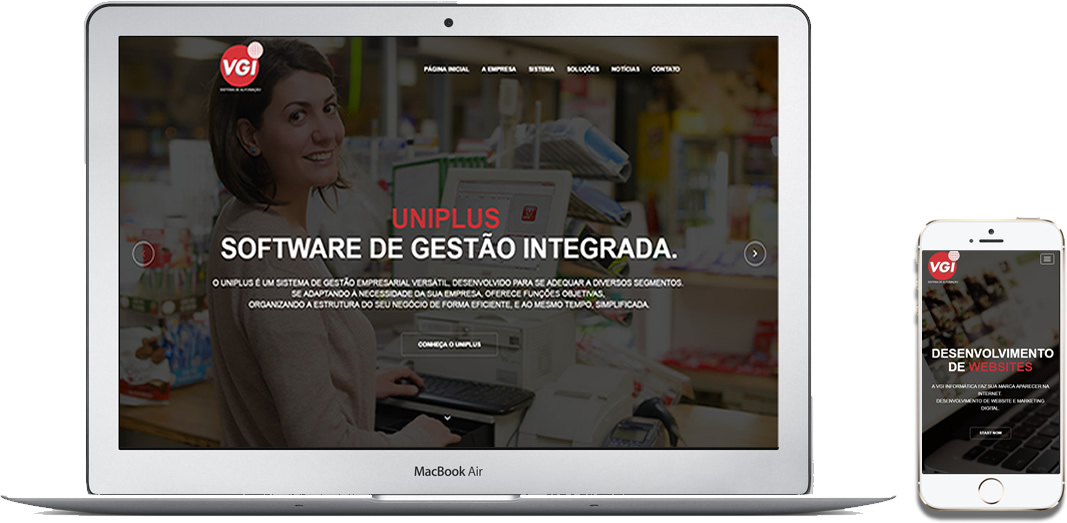 Desenvolvimemto de Websites